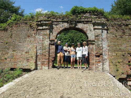 Мариамполь, замок, ворота, Яблоновские