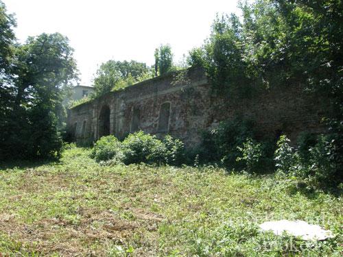 Мариамполь, замок, стена, Яблоновские