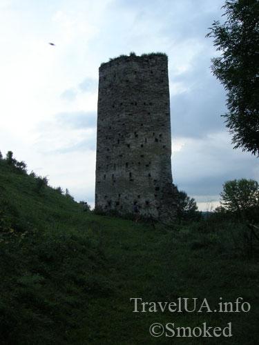 Раковец, башня замок, руины