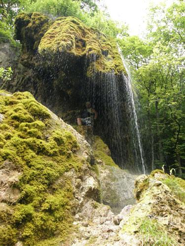 брызги воды, Днестр, водопад, Девичьи Слезы