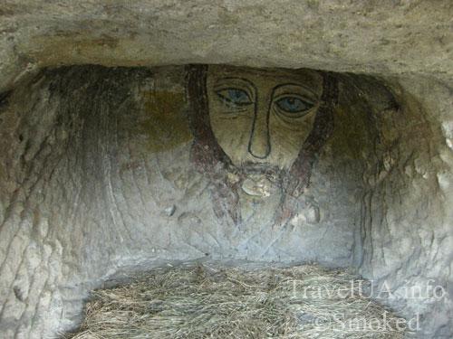 Каламита, Инкерман, Крым, пещера, икона, фреска