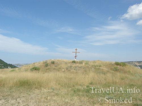 Каламита, Инкерман, Крым, крест
