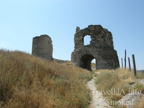 Инкерман, Крым, развалины, крепость, Каламита