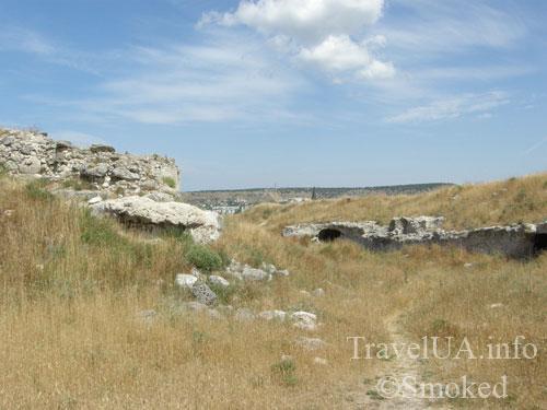 Каламита, Инкерман, Крым, стена
