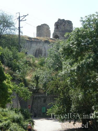 Инкерман, Крым, развалины