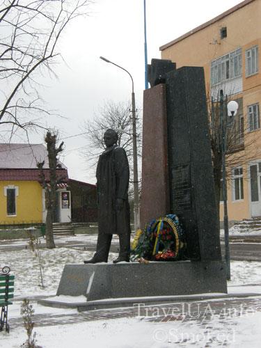 Старый Самбор, Львовская область, памятник, Бандера