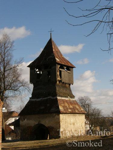 Старая Соль, колокольня, замок, башня, Львовская область