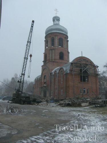 Самбор, Львовская область, храм Павла Конюшкевича