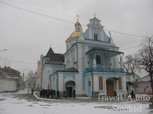 Самбор, Львовская область, святой Валентин, мощи, легенда, церковь Рождества Богородицы