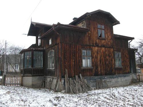 деревянный дом, Хиров, Львовская область