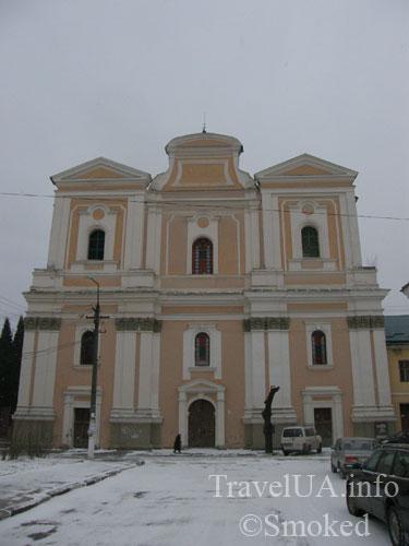 костел святого Станислава, монастырь бернардинцев, Самбор, Львовская область, дом органной музыки