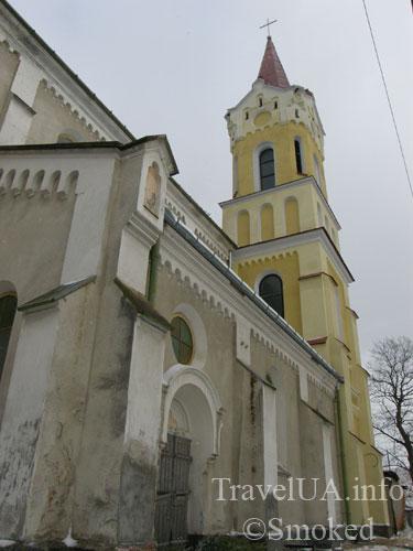 Костел Николая, Николаевский костел, Старый Самбор, Львовская область