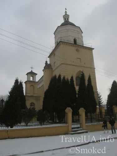 Костел Усекновения главы святого Иоанна Крестителя, Самбор, Львовская область