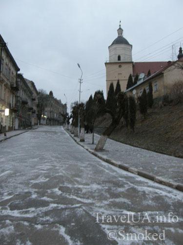 Самбор, Львовская область, костел, улица Сагайдачного