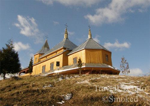 деревянный храм, Пятницкая церковь, Старая Соль, Львовская область