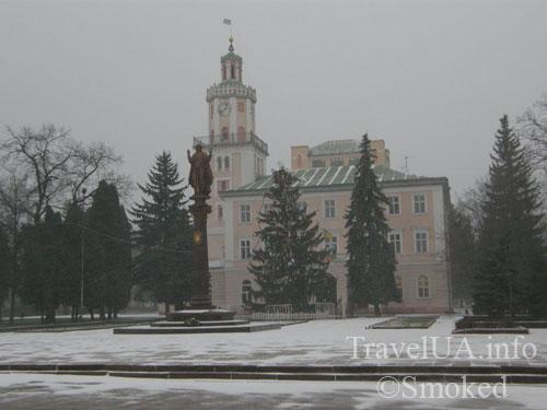 Самбор, Львовская область, ратуша
