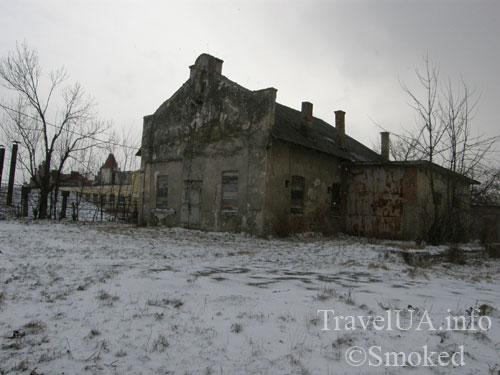 Самбор, Львовская область, старый дом