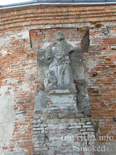 Старая Соль, статуя евангелиста, Львовская область