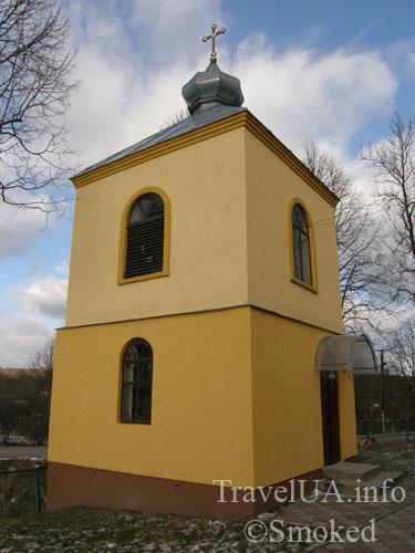 деревянный храм, Воскресенская церковь, Старая Соль, Львовская область