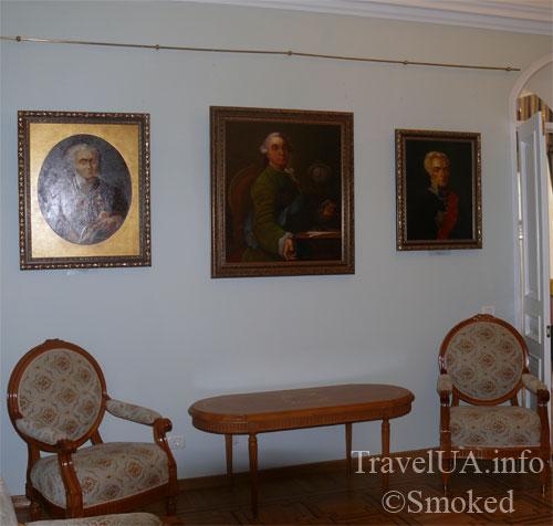 музей, Батурин, дворец Розумовского, Черниговская область, картины