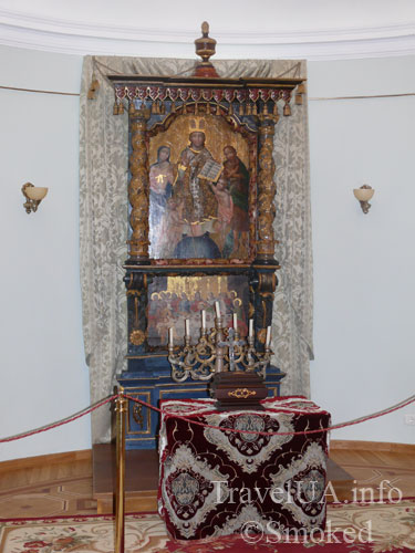 алтарь, картины, музей, Батурин, дворец Розумовского, Черниговская область