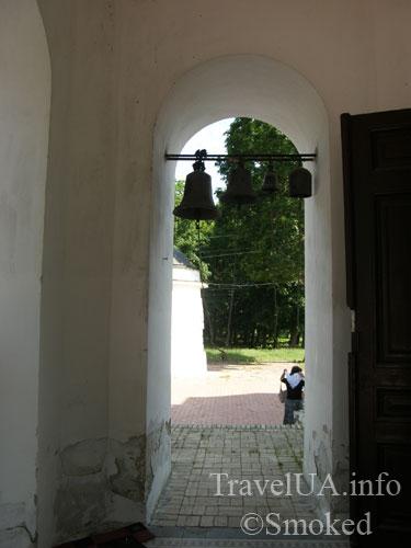 дворец в Качановке, георгиевская церковь