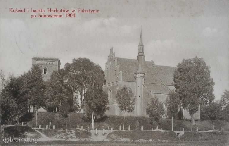 Скеливка, Фельштин, костел святого Мартина