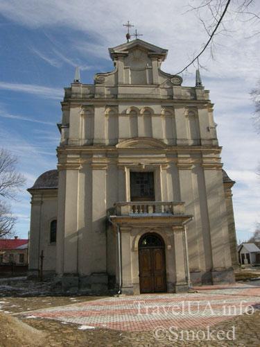 костел, Добромыль, Львовская область