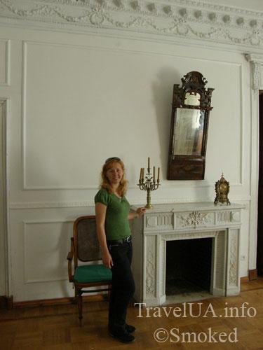 камин, дворец в Качановке, музей, интерьер