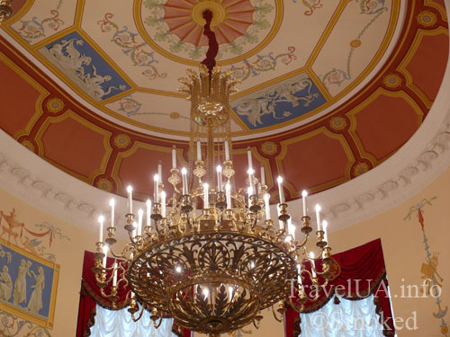 люстра, картины, музей, Батурин, дворец Розумовского, Черниговская область