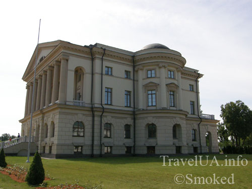 Батурин, дворец Розумовского, Черниговская область