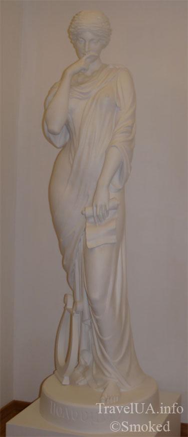 статуя, картины, музей, Батурин, дворец Розумовского, Черниговская область