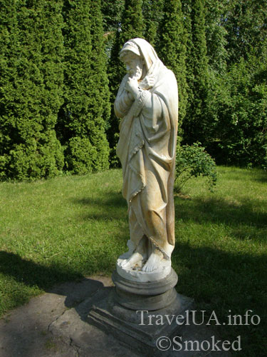 статуя, дворец в Качановке, музей