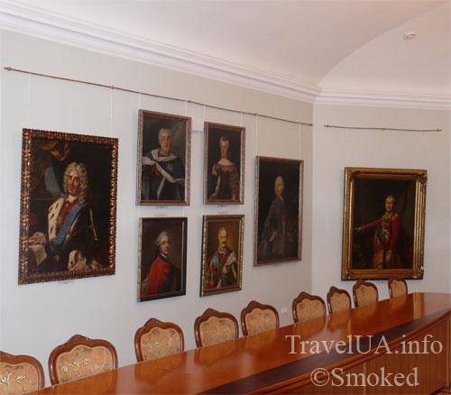 картины, музей, Батурин, дворец Розумовского, Черниговская область