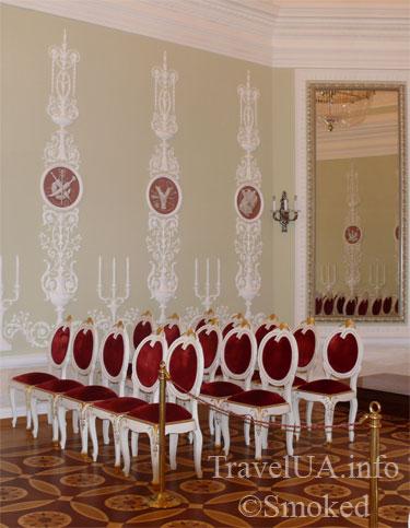 интерьер, музей, Батурин, дворец Розумовского, Черниговская область