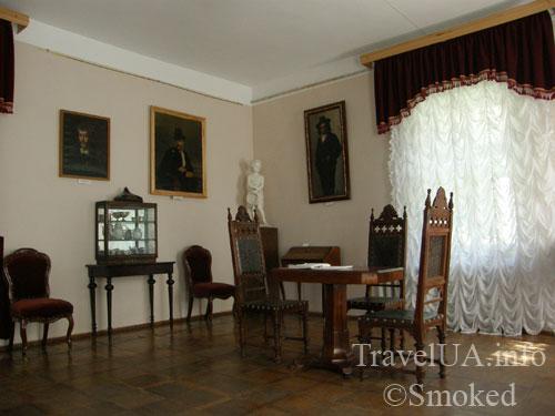 дворец в Качановке, музей, интерьер